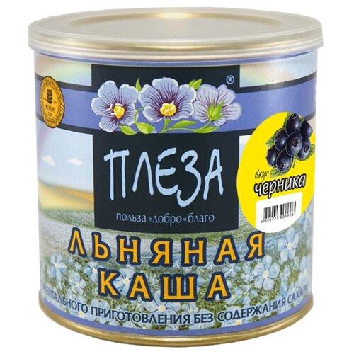ПЛЕЗА Каша льняная вкус Черника, 400 г
