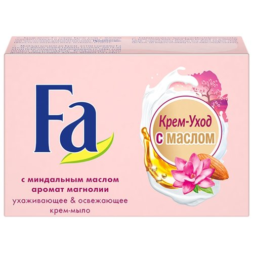 Крем-мыло кусковое Fa Крем-уход с маслами шелк & магнолия, 90 г крем спф 90 купить
