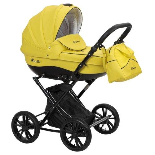 Купить Коляска для новорожденных Mr Sandman Rustle 08 желтый, Коляски