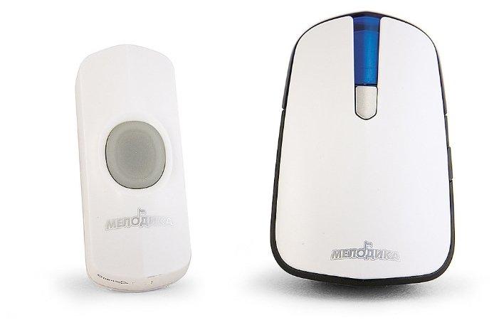 Звонок с кнопкой Мелодика С530 электронный беспроводной (количество мелодий: 32)