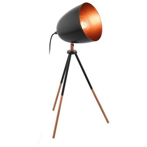 Настольная лампа Eglo Chester 49385, 60 Вт настольная лампа eglo chester 49385 60 вт