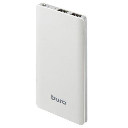Аккумулятор Buro RCL-8000 белый мобильный аккумулятор buro rcl 10000 bk li pol цвет черный