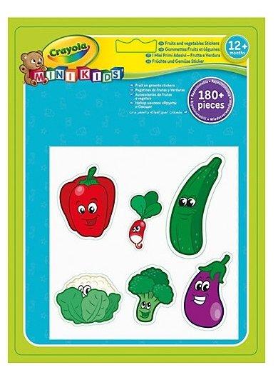 Crayola Набор наклеек Фрукты и Овощи, 30 листов (81-2010)