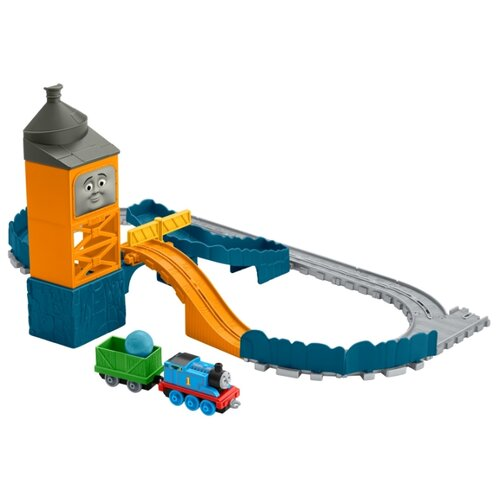 Fisher-Price Стартовый набор Карьер Голубой горы, серия Adventure, FJP82Наборы, локомотивы, вагоны<br>