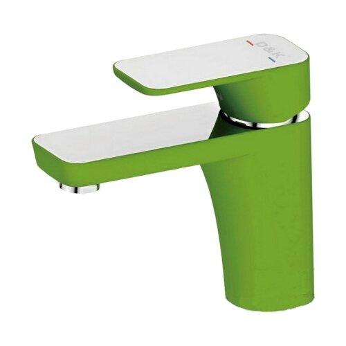 смеситель для раковины d Смеситель для раковины (умывальника) D&K DA143211x зеленый/хром