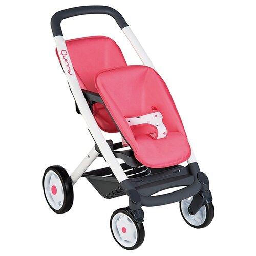 Прогулочная коляска Smoby MC&Quinny 253298 розовый/белый/рисунок прогулочная коляска quinny zapp flex plus luxe sport grey