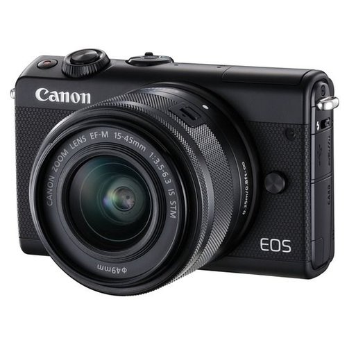 Фотоаппарат Canon EOS M100 Kit черный 15-45mm IS STM LP-E12