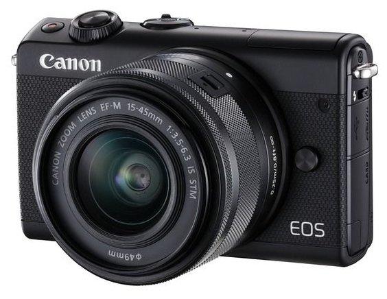 Canon Фотоаппарат со сменной оптикой Canon EOS M100 Kit