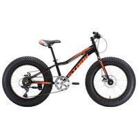 Велосипед Stark Rocket Fat 20.1 D (2018) Чёрный/оранжевый