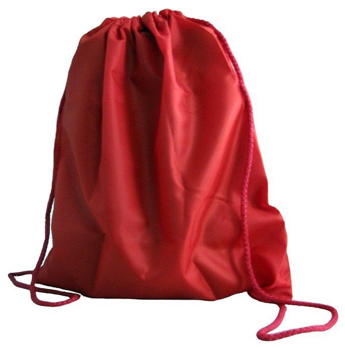 Сумка для обуви для учеников начальной школы, красная, 33х42 см, МО-1699 (арт. 226648)