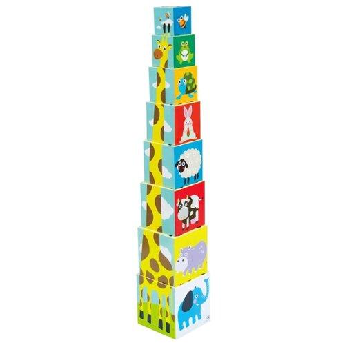 Пирамидка Little hero Складные кубики 3028A