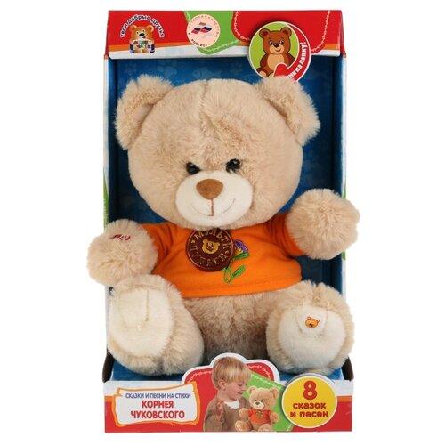 Купить Мягкая игрушка Мульти-Пульти Мишка 25 см стихи и песенки К.Чуковского, Мягкие игрушки
