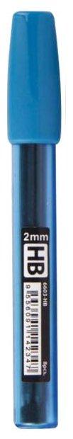 STABILO Грифели для механических карандашей LeftRight HB, 2 мм, 8 шт.