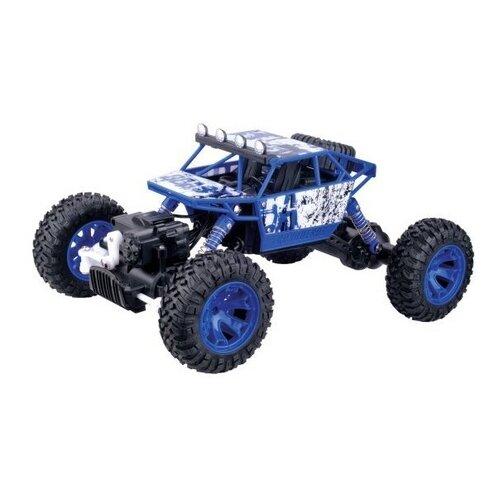 Купить Багги Пламенный мотор ПМ 005 (870232/870233) 1:18 26 см синий, Радиоуправляемые игрушки