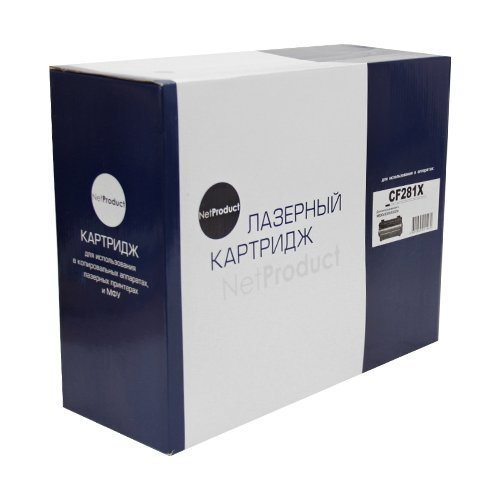 Фото - Картридж Net Product N-CF281X, совместимый картридж net product n ep 27 совместимый