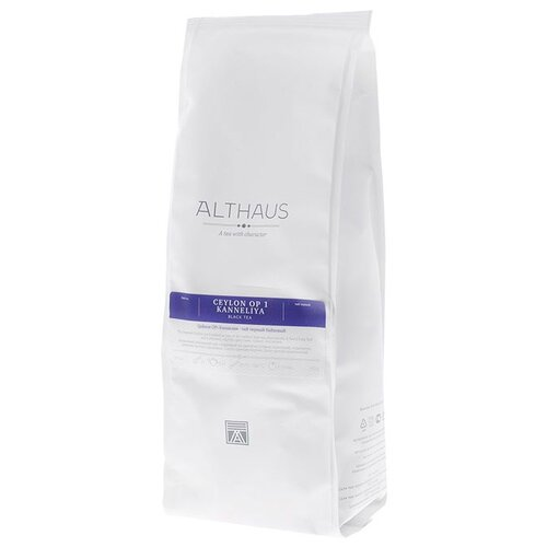 Чай черный Althaus Ceylon OP 1 Kanneliya, 250 г г форе серенада op 98