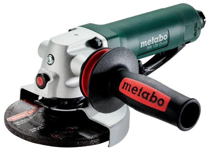 Угловая пневмошлифмашина Metabo DW 125 QUICK