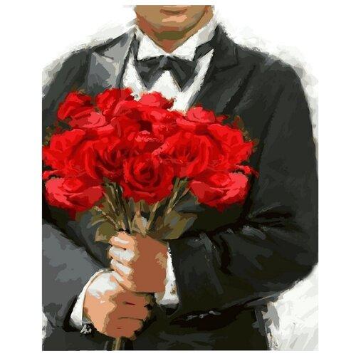 Купить Color Kit Картина по номерам Розы для любимой 40х50 см (CG796), Картины по номерам и контурам