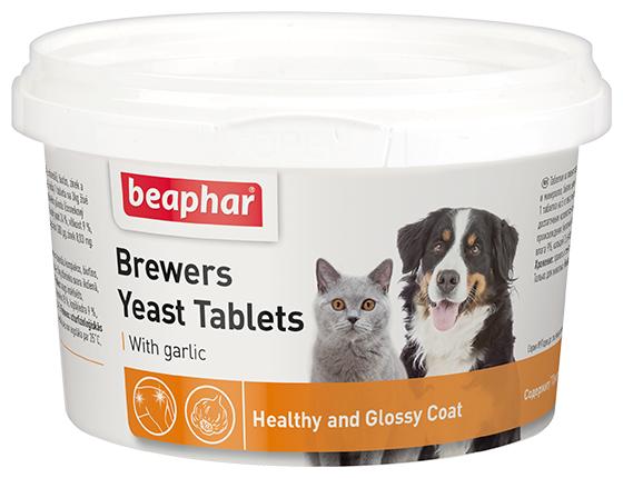 Добавка в корм Beaphar Brewers Yeast with Garlic