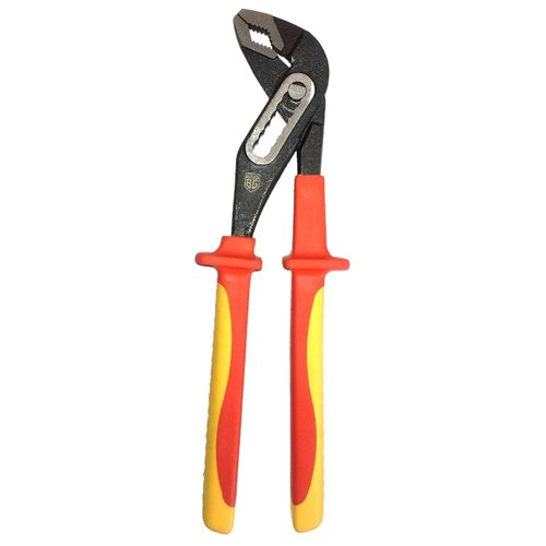 Сантехнические клещи BERGER BG1176 250 мм красный/желтый сантехнические клещи felo 89502540 250 мм красный