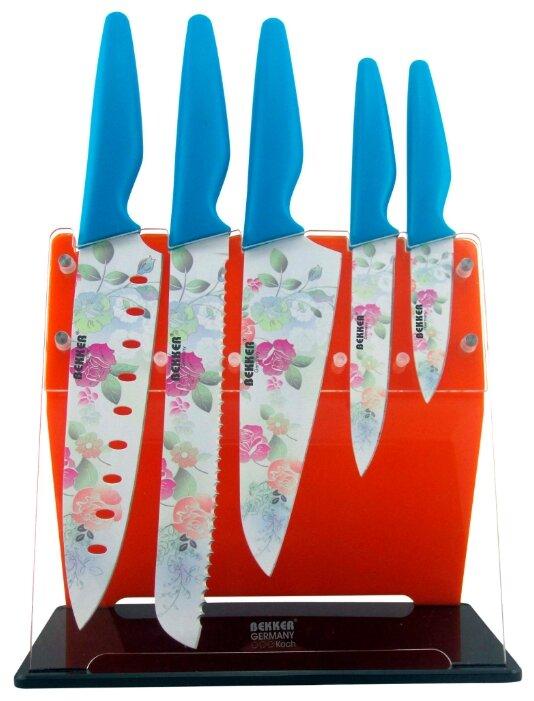 Набор Bekker Classic BK-8446, 5 ножей с подставкой
