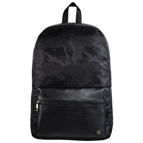 Рюкзак HAMA Mission Camo Notebook Backpack 14 black/camouflageСумки и рюкзаки<br>
