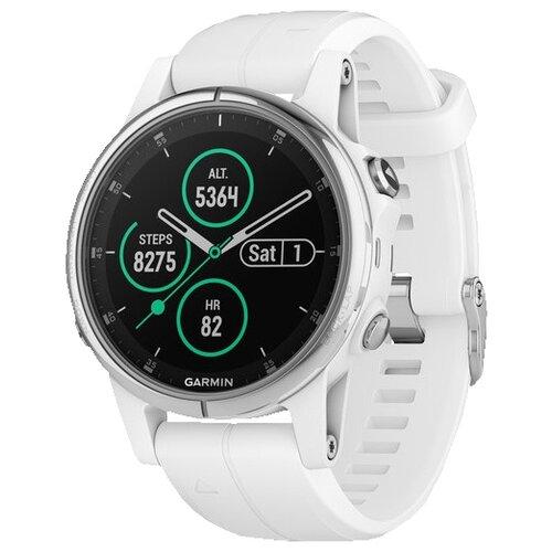Часы Garmin Fenix 5S Plus Sapphire белый