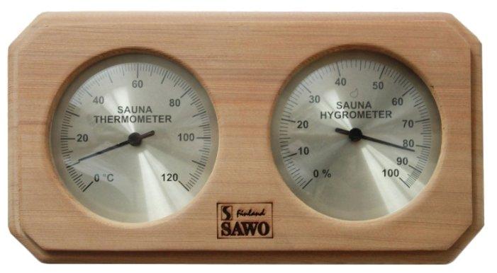 Термогигрометр SAWO 221-THD (Кедр (D), 255x30x140 мм)