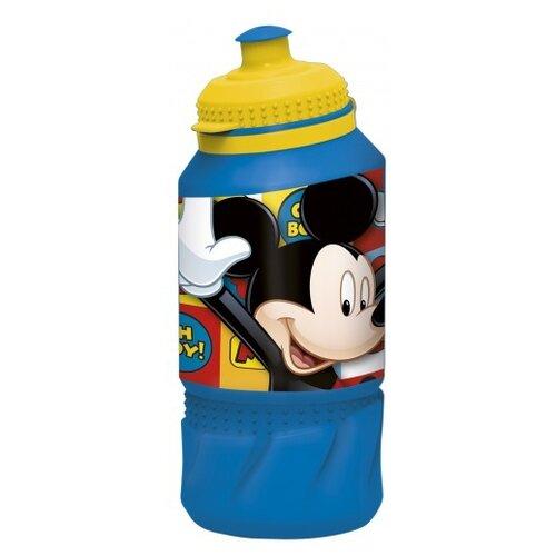Бутылка для воды, для безалкогольных напитков Stor спортивная 0.42 пластик Микки Маус символы недорого