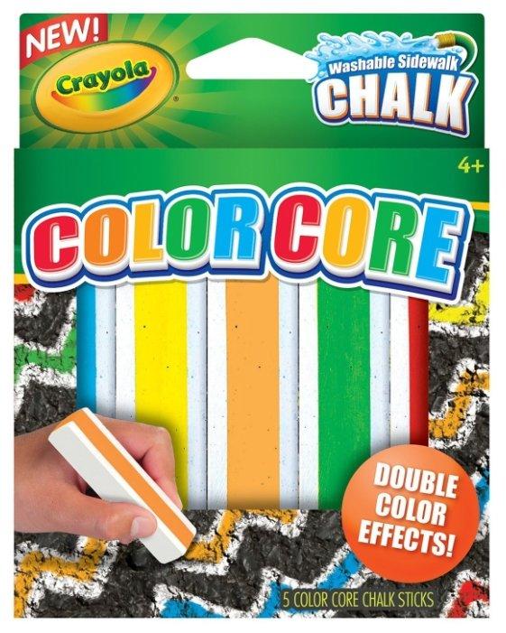 Crayola Мелки с цветным стержнем 5 цветов
