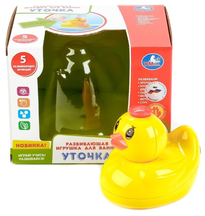 Игрушка для ванной Умка Уточка