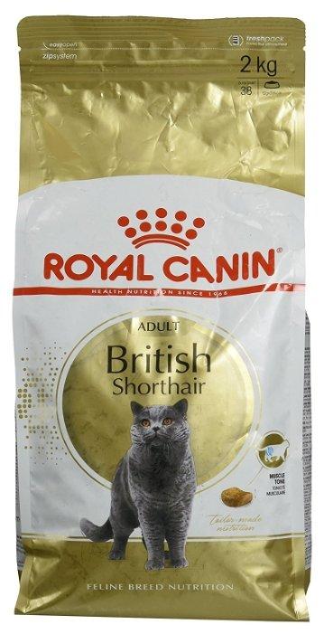 Корм для кошек Royal Canin (2 кг) British Shorthair Adult