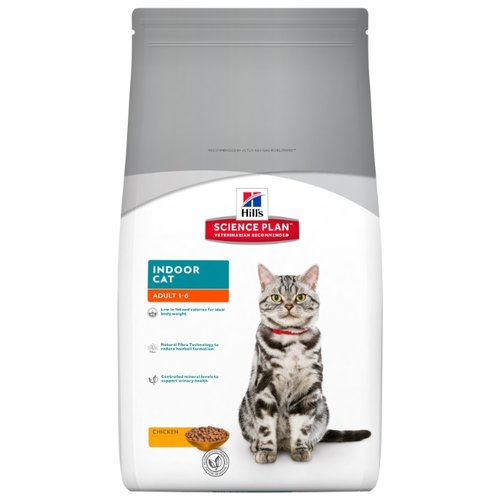 Корм для кошек Hills Science Plan Feline Adult Indoor Cat Chicken (1.5 кг)Корма для кошек<br>