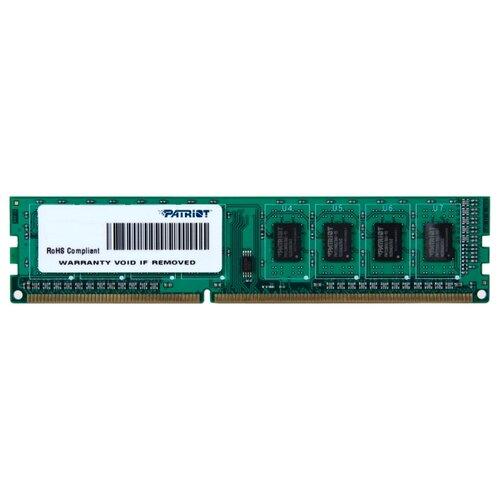 Оперативная память Patriot Memory DDR3 1600 (PC 12800) DIMM 240 pin, 4 ГБ 1 шт. 1.5 В, CL 11, PSD34G16002