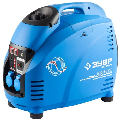Фото - Бензиновый генератор ЗУБР ЗИГ-3500 (3000 Вт) генератор зубр зиг 1200