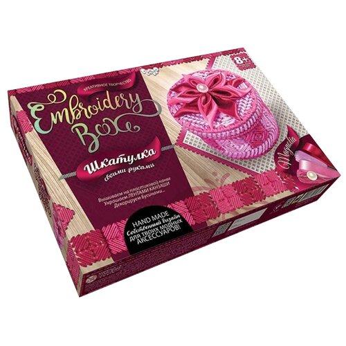 Купить Danko Toys Набор для вышивания Embroidery Box Шкатулка Набор 1 (EMB-01-01), Наборы для вышивания