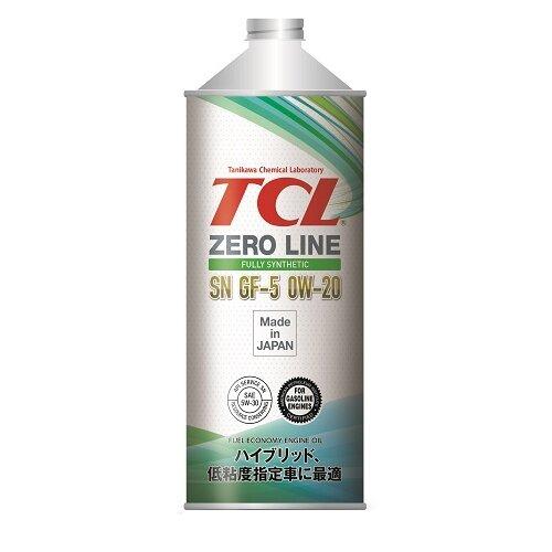 Моторное масло TCL Zero Line 0W-20 SN/GF-5 1 л