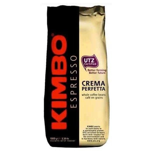 Кофе в зернах Kimbo Espresso Crema Perfetta, арабика, 1000 г кофе в зернах kimbo espresso bar prestige 1000