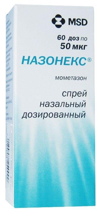 Назонекс спрей наз. дозир. 50мкг/доза фл. 60 доз