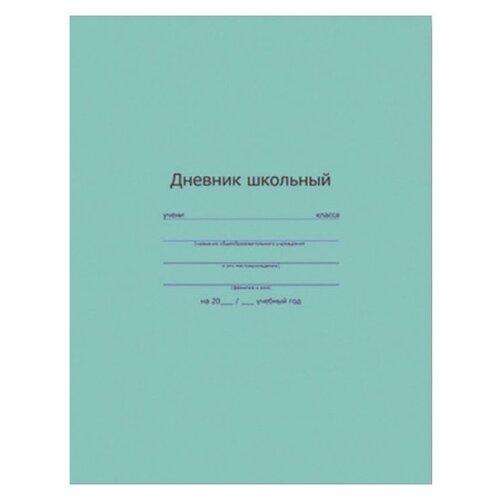 Феникс Дневник школьный с интегральным переплетом зеленый