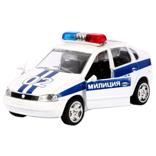 цена на Легковой автомобиль ТЕХНОПАРК Lada Kalina ДПС (CT1049-P) белая