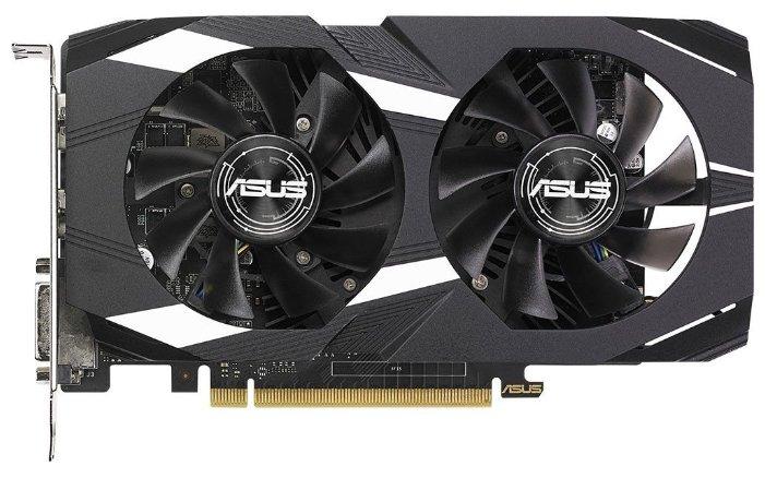 Видеокарта ASUS GeForce GTX 1050 Ti 1341MHz PCI-E 3.0 4096MB 7008MHz 128 bit DVI HDMI HDCP Dual OC V