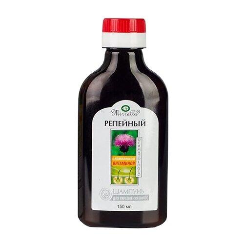Mirrolla шампунь Репейный с комплексом витаминов для укрепления волос 150 мл
