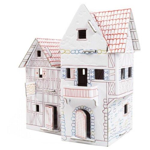Сборная модель Умная Бумага Пекарня (243-2) пекарня 15