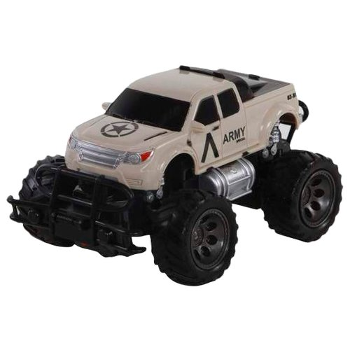 Купить Внедорожник Yako Safari драйв (M6264-1) 1:24 24.5 см серый, Радиоуправляемые игрушки