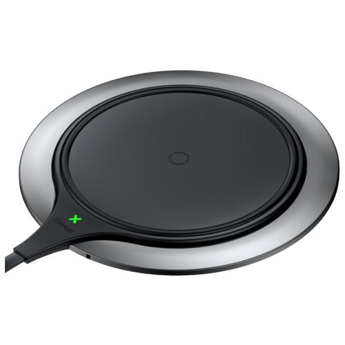 Купить Сетевая зарядка Baseus Metal Wireless Charger серебристый / черный