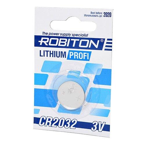 Батарейка ROBITON Lithium Profi CR2032, 1 шт. недорого