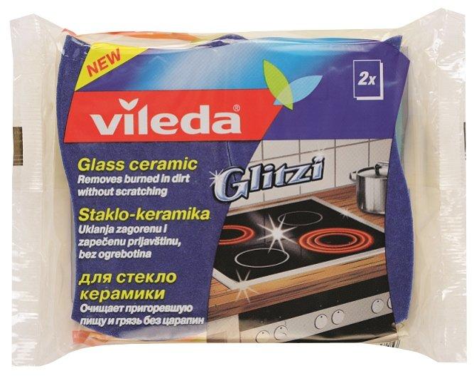 Губка для стеклокерамики Vileda Глитци 2 шт