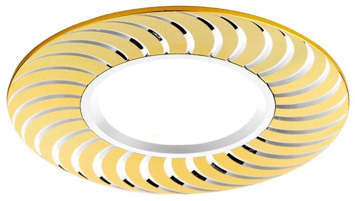 Встраиваемый светильник Ambrella light A720 G/AL, золото/алюминий