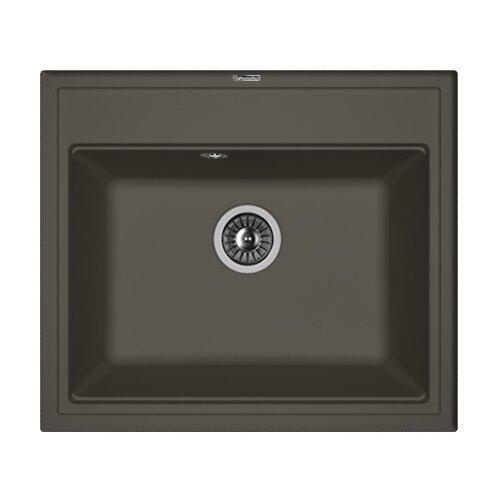 Врезная кухонная мойка 60 см FLORENTINA Липси-600 FS 20.120.D0600.302 антрацит